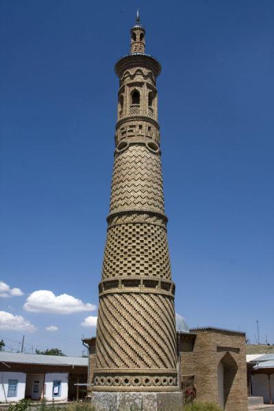 Picture of Istaravshan Old Town (Tajikistan): Minaret in Istaravshan