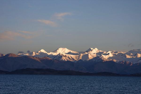 Picture of Lake Kara Kul (Tajikistan): Sunrise over Lake Kara Kul