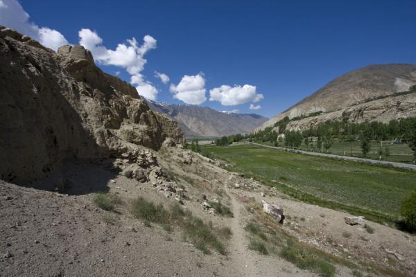 Picture of View from Khakha fortressNamadguti - Tajikistan