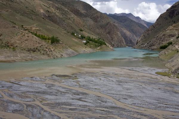 Picture of Marguzor lakes (Tajikistan): Nofin, the fourth Marguzor lake