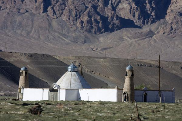 Foto van The main mosque of Murgab lies a little outside townMurgab - Tadzjikistan