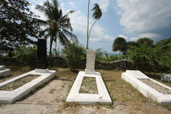 Picture of Bagamoyo (Tanzania): Some of the tombs of the German cemetery