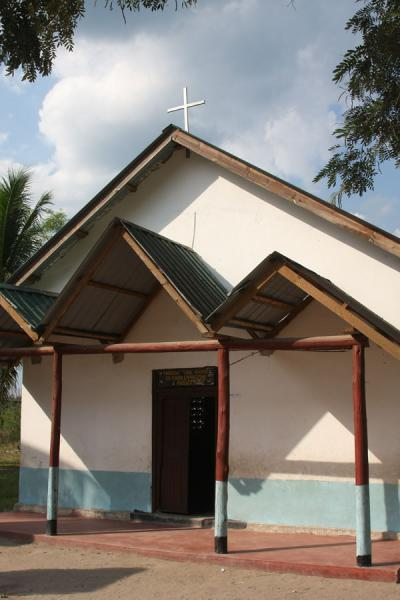 Picture of Catholic Church which some claims was once used by Dr. Livingstone