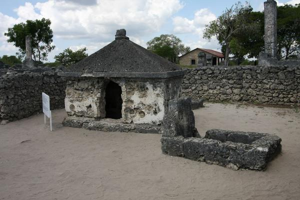 Tomb of Sherrifa, a girl believed to be a direct descendant of the Propher Mohammed | Kaole Ruins | Tanzania
