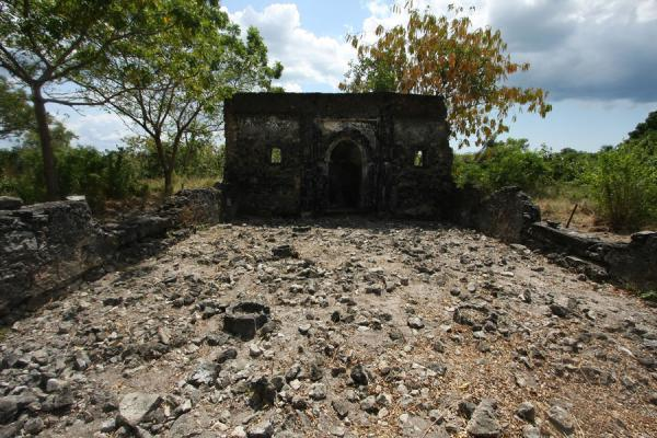 Ruins of a 15th-century mosque | Kaole Ruins | Tanzania