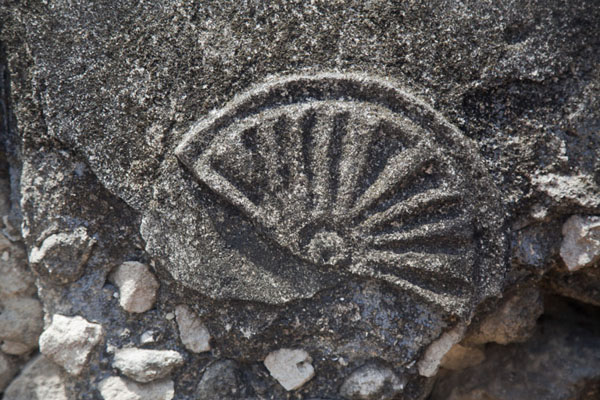 Picture of Detail of one of the graves at KunduchiKunduchi - Tanzania