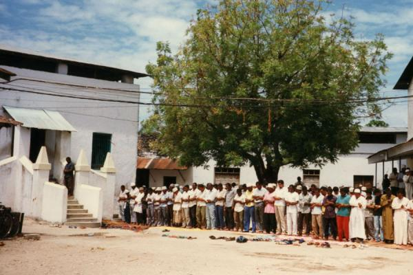 Picture of Praying in Stone Town, Zanzibar