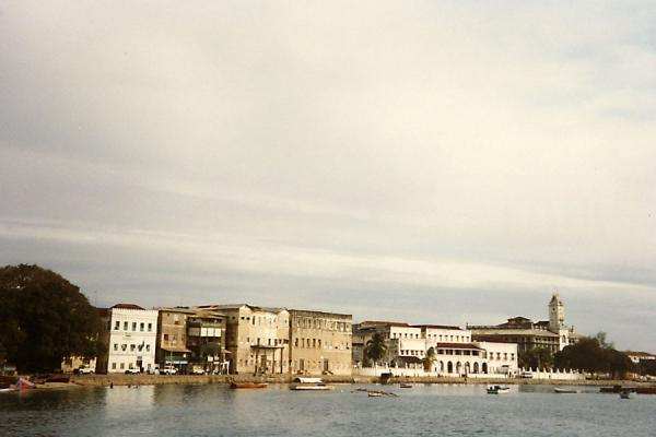 Picture of Zanzibar (Tanzania): The small harbour of Stone Town