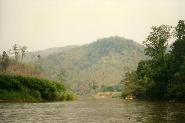 Picture of Chiang Rai river tour (Thailand): Landscape near Chiang Rai