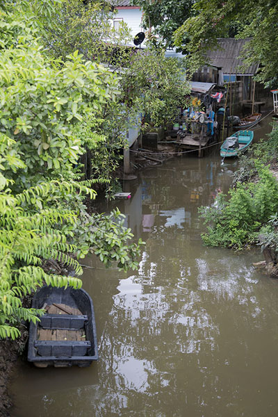 Foto de Canal off the Chao Phraya river at Ko Kret - Tailandia - Asia