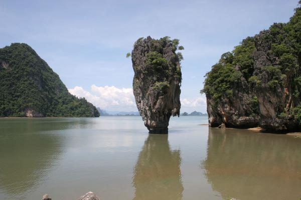 Picture of Phang Nga Bay (Thailand): James Bond island, or Ko Tapu, in Phang Nga Bay National Park