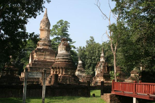 Picture of Si Satchanalai (Thailand): Si Satchanalai: Wat Chedi Ched Thaeo