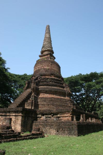 Picture of Si Satchanalai (Thailand): Nang Phaya: main chedi
