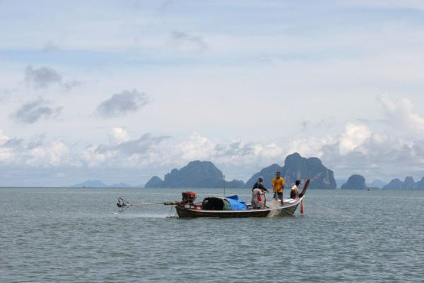 Picture of Thai Fishermen (Thailand): Fishermen on their way out