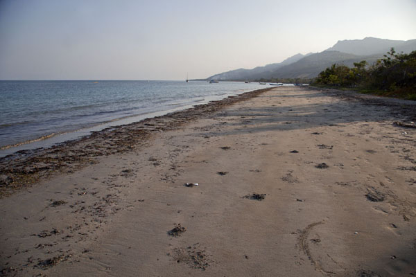 Photo de The beach of Beloi at the end of the dayAtauro - Timor Oriental