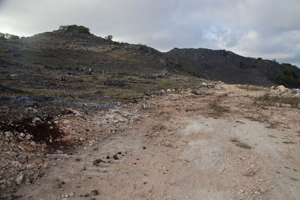 Photo de The dirt track at the northern part of AtauroAtauro - Timor Oriental