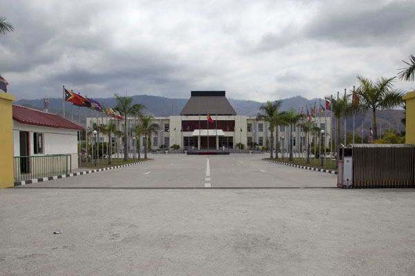 The Presidential Palace in Dili is not as accessible as it used to be | Dili | Timor-Leste