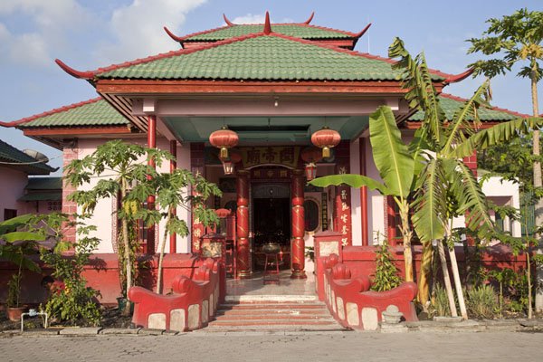 Photo de Chinese temple in DiliDili - Timor Oriental