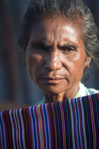 Picture of Woman at the Saturday market of LospalosLospalos - Timor-Leste