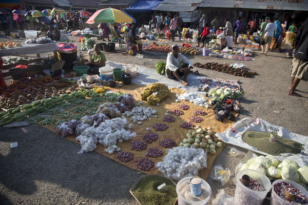 Photo de The Saturday market of LospalosLospalos - Timor Oriental