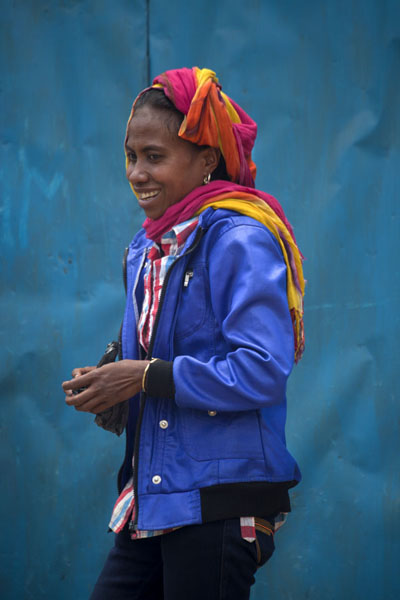 Young girl at the market | Maubisse market | 帝汶勒斯特