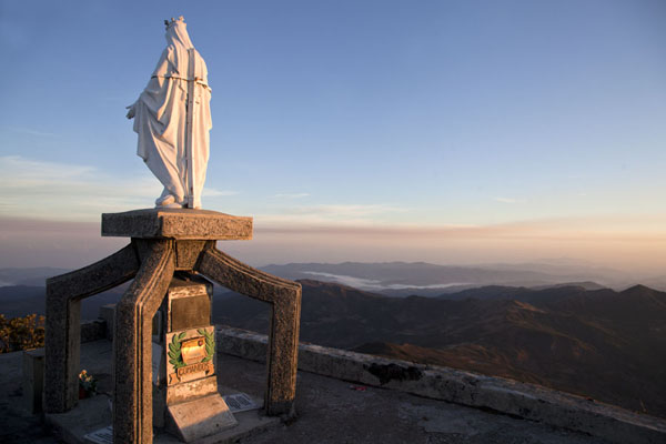 Statue of Virgin Mary at the summit of Mount Ramelau | Mount Ramelau | Timor-Leste