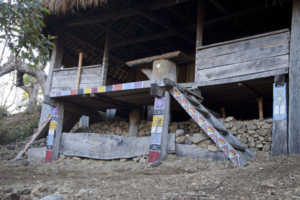The small wooden chapel on the way up to the summit | Mount Ramelau | Timor-Leste