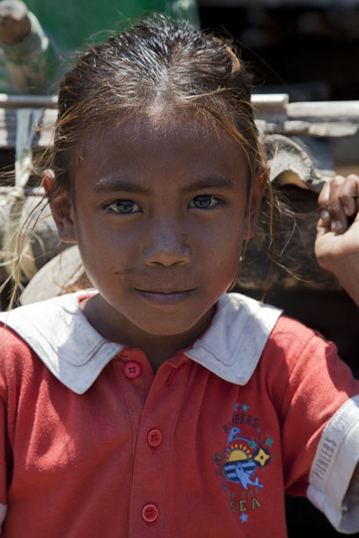 Picture of Pretty faced girl in Suai LoroSuai Loro - Timor-Leste