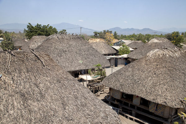 View of the village from top of a hut | Suai Loro | Timor-Leste