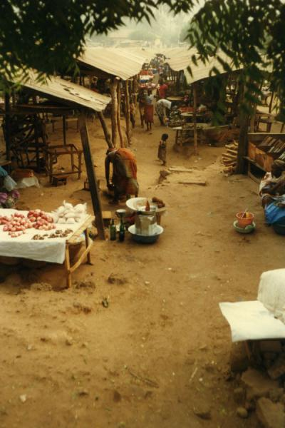 Picture of One of those characteristic marketsLomé - Togo