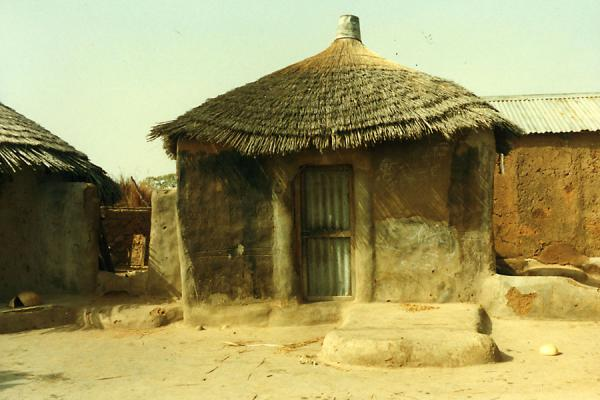 的照片 多哥 (Togolese hut in the north of the country)