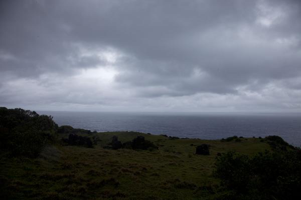 Foto de Looking east on the southeastern side of 'Eua - Tonga