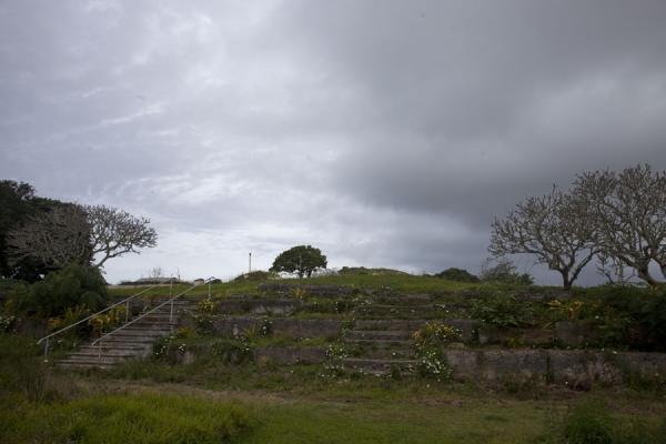 Foto van One of the platforms in Lapaha, or Mu'aTeotihuacan - Tonga