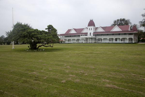 Picture of Nuku'alofa (Tonga): View from the west of the Royal Palace
