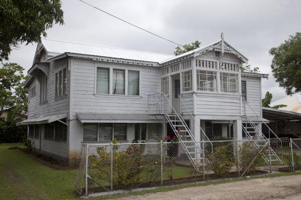 White gingerbread house typical for Nuku'alofa | Nuku'alofa | Tonga