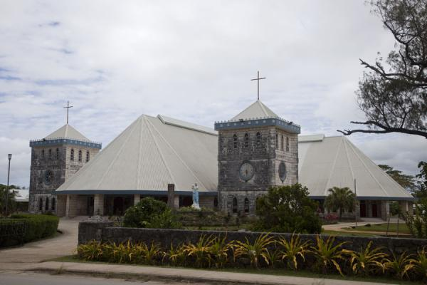 Picture of Nuku'alofa (Tonga): St. Mary's cathedral is just one of the many churches in Nuku'alofa