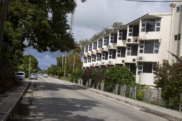 Picture of Nuku'alofa (Tonga): One of the streets of Nuku'alofa