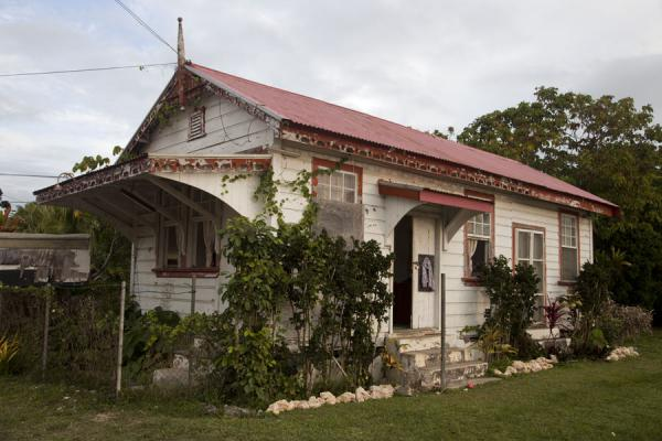Picture of Nuku'alofa (Tonga): Typical house of Nuku'alofa