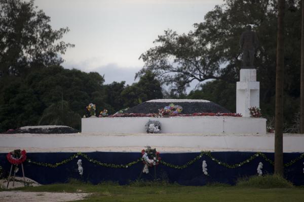 Picture of Nuku'alofa (Tonga): Close-up of the Royal Tombs