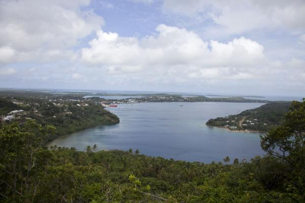 Foto van View of Neiafu Harbour from Tatau lookoutVava'u Island - Tonga