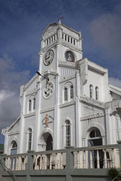 Picture of Vava'u Island (Tonga): Catholic church of Vava'u
