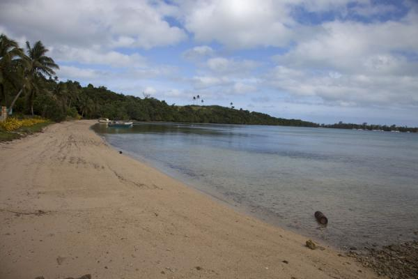 Picture of Vava'u Island (Tonga): Empty Ano beach with quiet sea waters