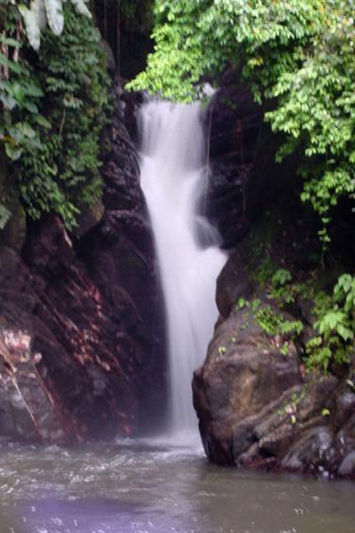 Picture of Waterfall - Paria beach, Trinidad