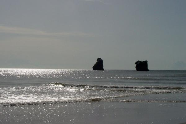 Some outlying rocks at Columbus Bay | South Trinidad | Trinidad & Tobago