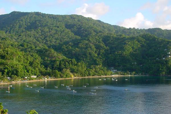 Picture of Charlotteville beach, Tobago