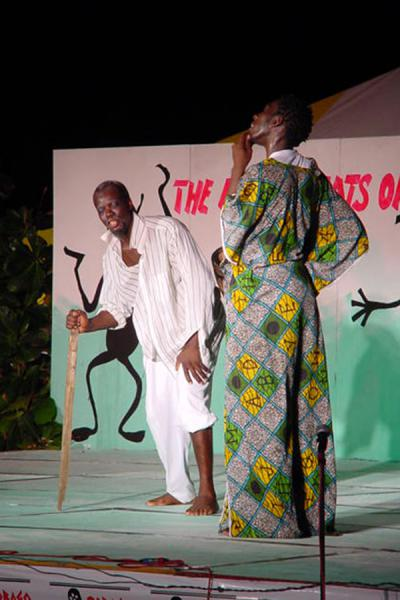 Performing an in-between act | Festival de la herencia de Tobago | Trinidad & Tobago