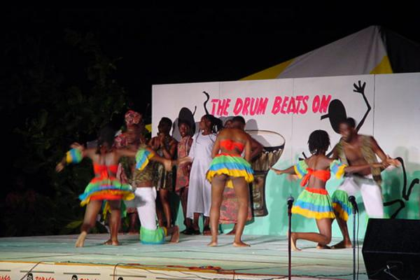 Picture of Swinging away the nightTobago - Trinidad & Tobago