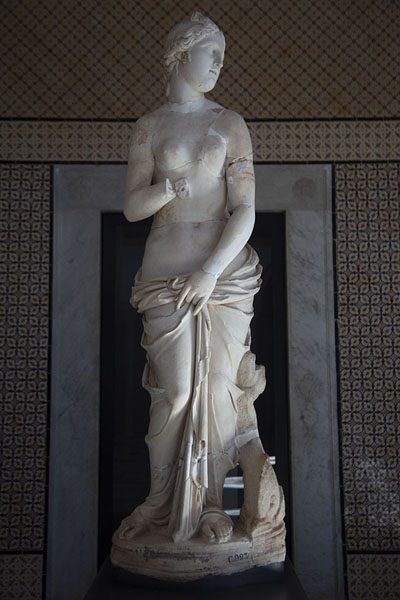 Picture of Bardo National Museum (Tunisia): Venus statue in the Bardo Museum