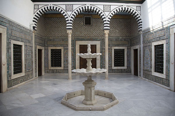 Patio in the Bardo Museum | Museo nazionale del Bardo | Tunisia