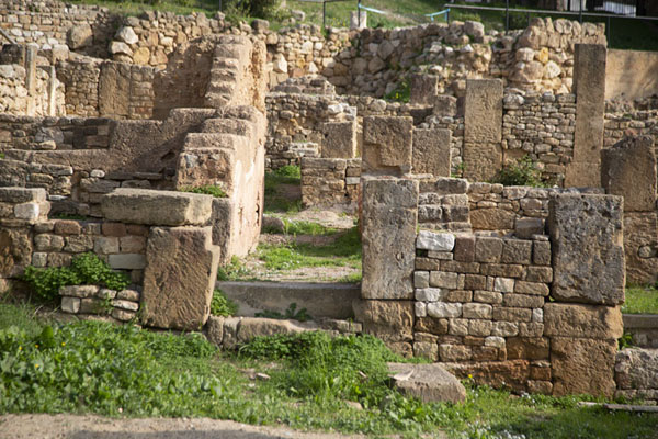 Walls of houses in the Punic quarter of Carthage | Punic Carthage | Tunisia